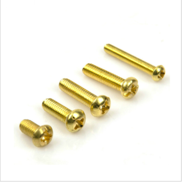 Brass Machine Screw Pan Head