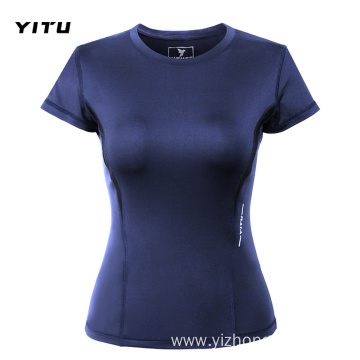 Moisture Wicking Dry Fit T Shirt Womens Tight