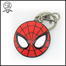 Spider Man Shield metal key rings