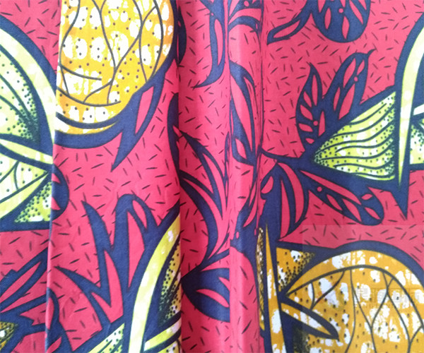 Cotton Wax Prints Textile