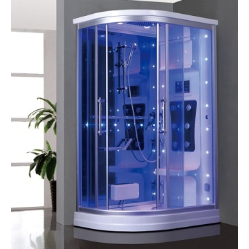 Tempered Glass Door Combo Shower Steam Room