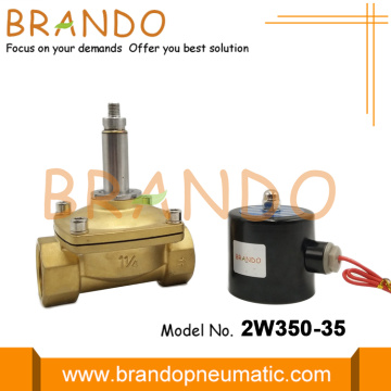 UW-35 2W350-35 Solenoid Valve With Brass bODY