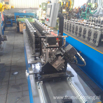 steel strip c stud u track automatic roll forming machine