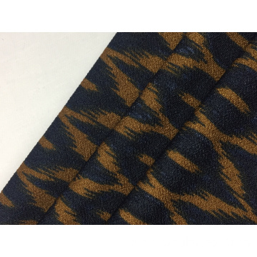 Polyester Crepe Print Knit Fabric