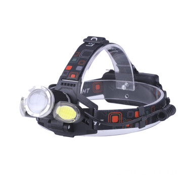 Powerful T6 COB Focusable USB Head Torch Light