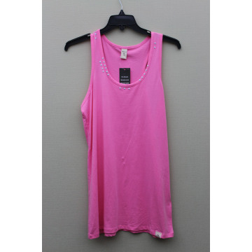 Cotton Knitted Ladies' Vest