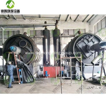 Automatic Waste Tyre Pyrolysis Technology