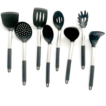 9pcs Silicone Kitchen Tools with Stand