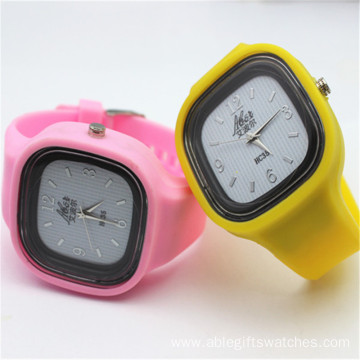 Newest Kids Fashion Silicone Sport Wristwatches