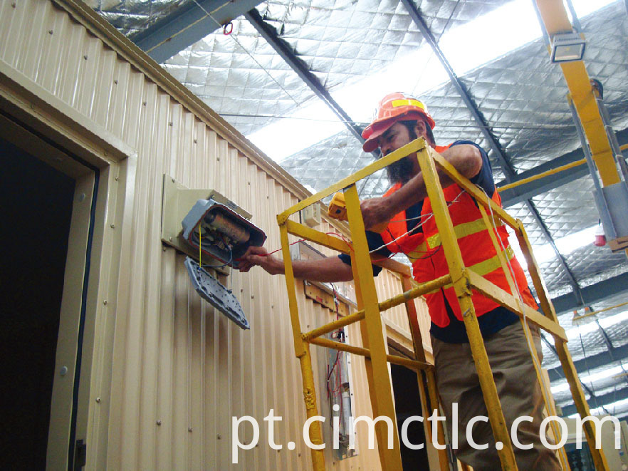 electrical test for Modular Laundry Container Type