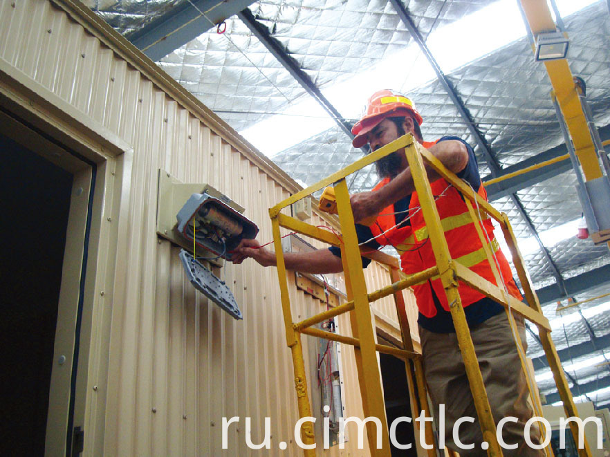 electrical test for Modular Recreation Room Container Type