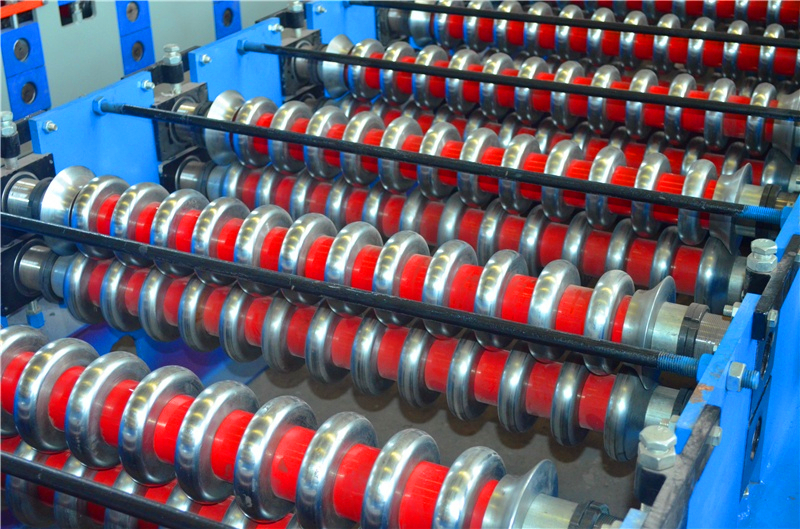 Sheet Corrugated Roll Forming