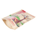 Food Grade Window Kraft Pouches with Zipper