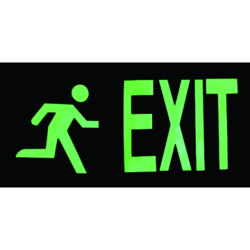 REALGLOW EXIT MAN SIGN