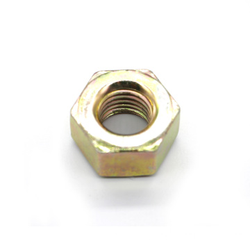 Yellow Zinc Plated Grade 2H Heavy Hex Nut