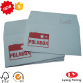 Gift White Paper Envelope with Logo