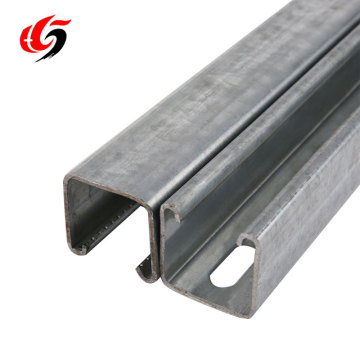seismic bracing metal strut channel