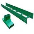 Fiberglass ladder type perforated frp cable tray
