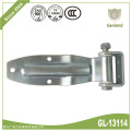 Shipping container steel rear side door hinge