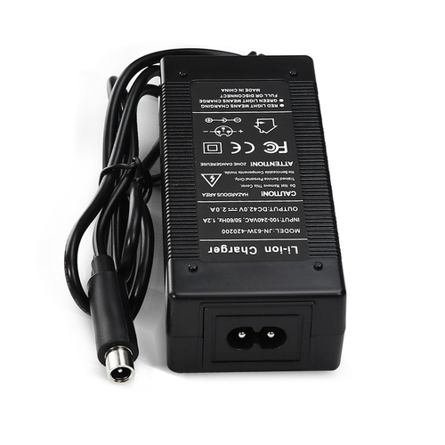 42v 2a Scooter Charger Adapter With Xiaomi M365