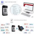 Smart video intercom system door lock voip product for moden hotel/office/apartment waterproof video intercom with door release