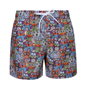 Summer Print Waterproof Mens Board Surf Board Shorts