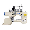 Direct drive 4-Needle 6-Thread Feed-off-the-Arm Flat Seamer Machine