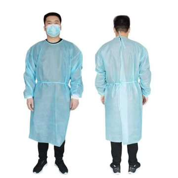 FDA CE approved disposable PP isolation gown