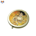Wholesale antique cosmetic pocket mirror custom