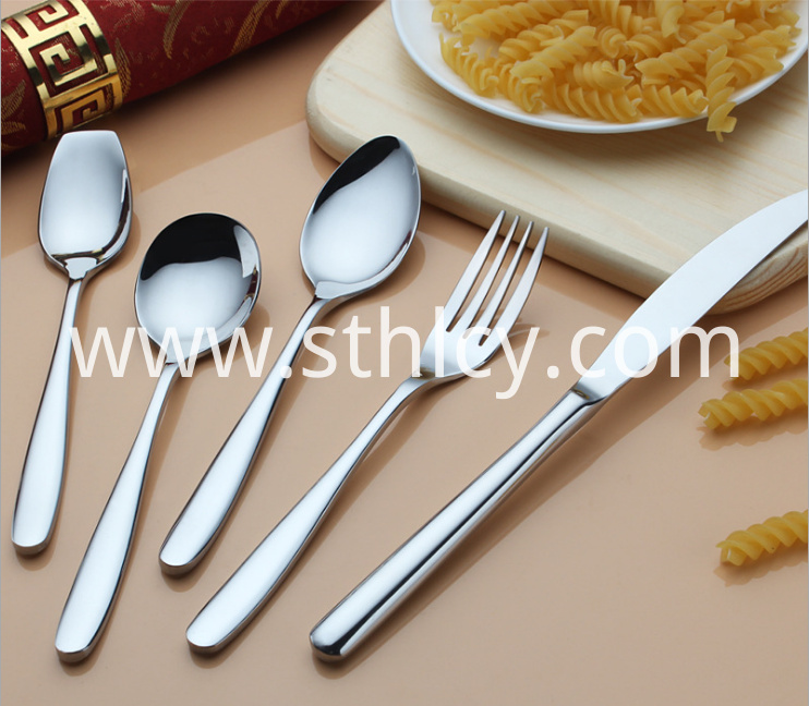 Stainless Steel Western Tableware