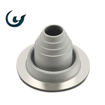 Round Base EPDM/Silicone Aluminum Rubber Roof Gripping Boots