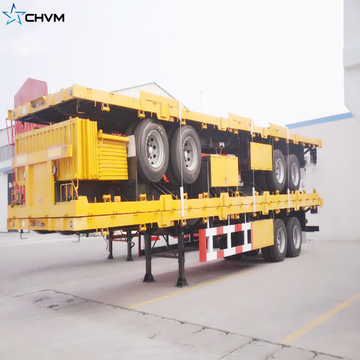 Container Flatbed Semi Trailer