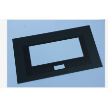 Electronic Microwave Door Clear Drilling Hole Tempered Glass