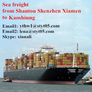 Sea Freight Services from Shantou to Kaoshiung