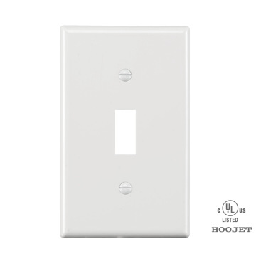 Safety 1 Gang PC Wall Cover Plate