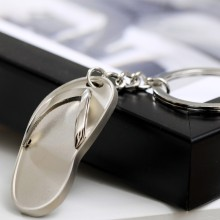 Fareast Hot Selling Metal Shoe Keychains 3d
