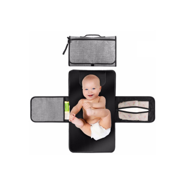 Waterproof Polyester Portable Baby Diaper Changing Pad