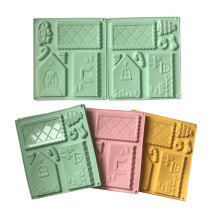 Grinber House shape silicone chocolate mould