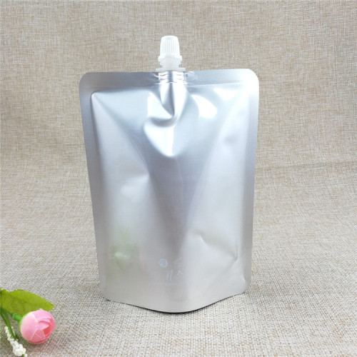 spout-bag liquid drink packaging doypack for juice packaging
