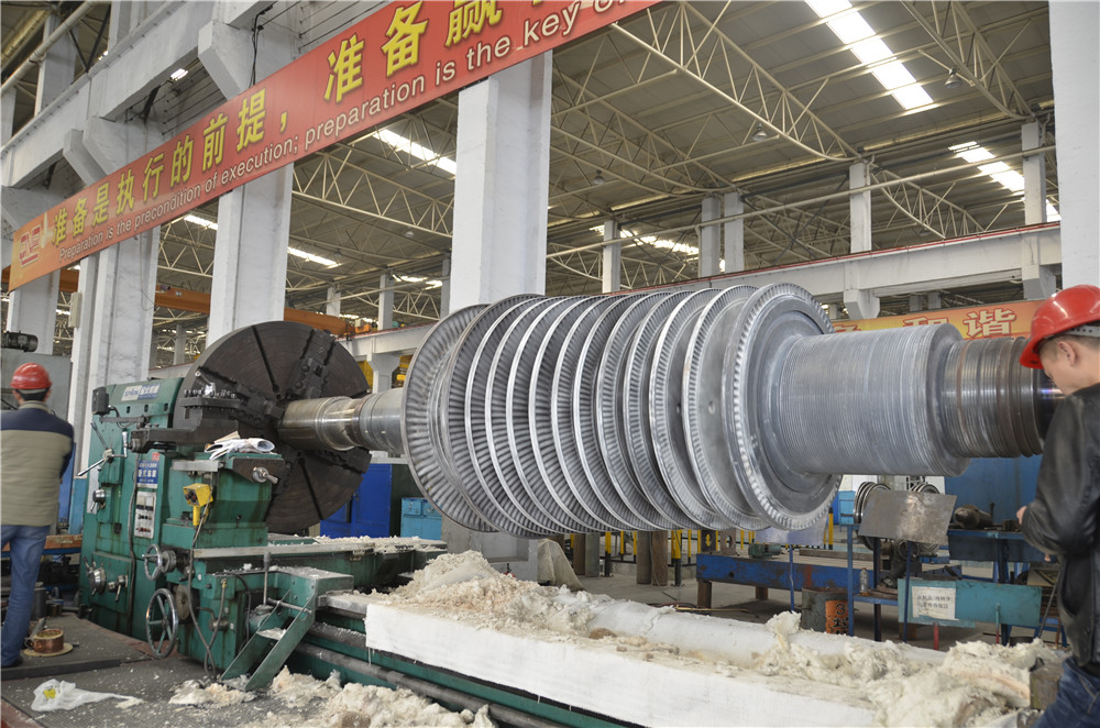 135mw Steam Turbine Rotor Slignment