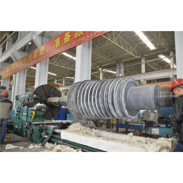 10MW Steam Turbine Generator Rotor Overhaul