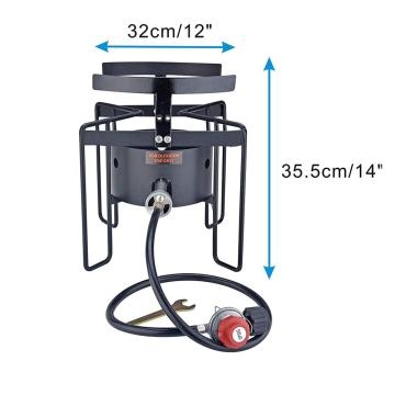 37000BTU High Pressure Outdoor Camping Propane Gas Cooker