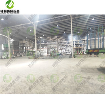 Waste Engine Motor Oil Refining Industry