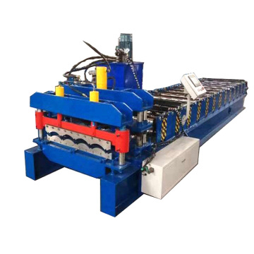 Automatic Steel Glazed Tile Cold Roll Forming Machine