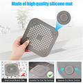 Silicone Drain Cover Suction Sink Drain Hair Stopper