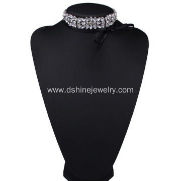 Multilayer Velvet Collar bow Choker Necklace Female Jewelry