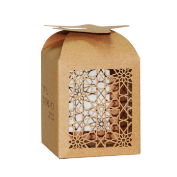 Laser Cut Wedding Favour Candy Cake Sweet Box