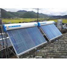 Factory Supply None pressurized solar water heater