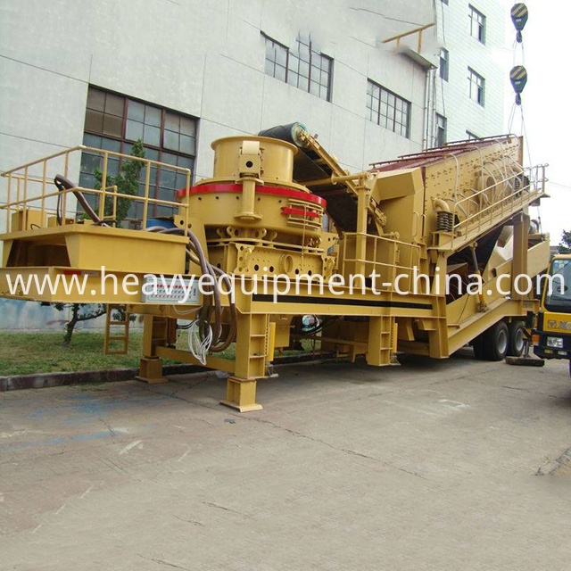Mobile Gravel Crushing Equipment