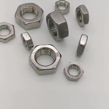 Stainless Steel Hex Thin Nut